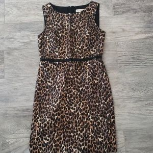 OOP LOFT Leopard Dress